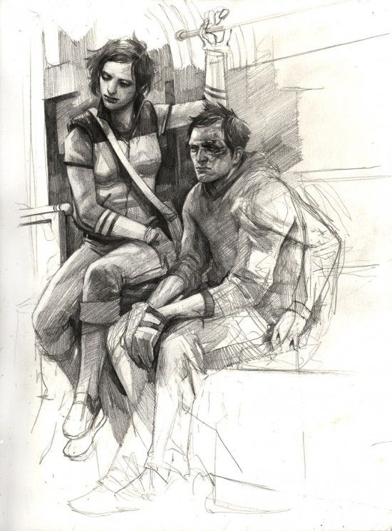 Wesley Burt Sketch Book Inspiration 17