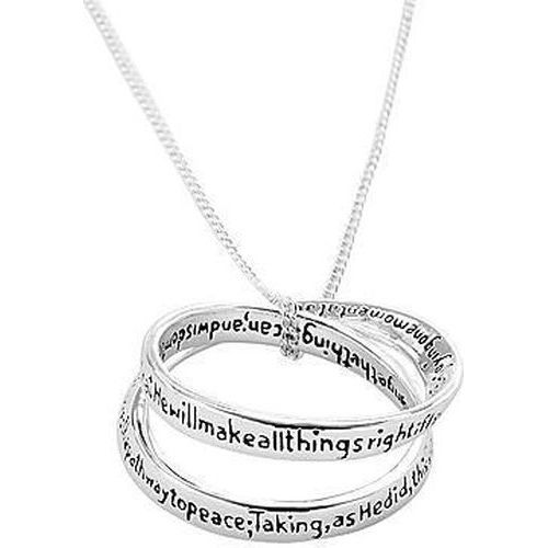 Everlasting Serenity Prayer Necklace | Confirmation Gifts For Girls