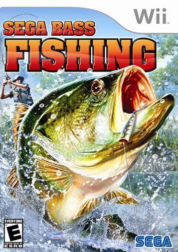 Sega Bass Fishing - Nintendo Wii, Multi