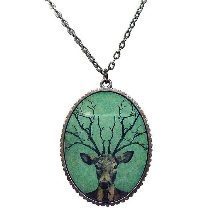My Deer Antler Necklace
