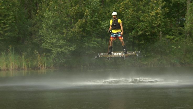 He wanted to fly: Montreal inventor's hoverboard is taking him to the next level