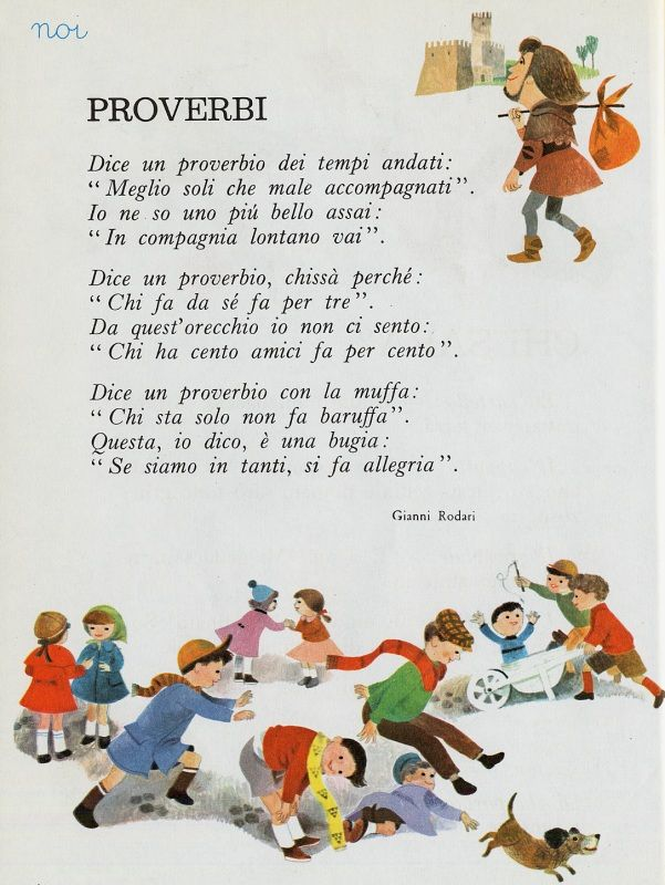 Gianni Rodari - Proverbi