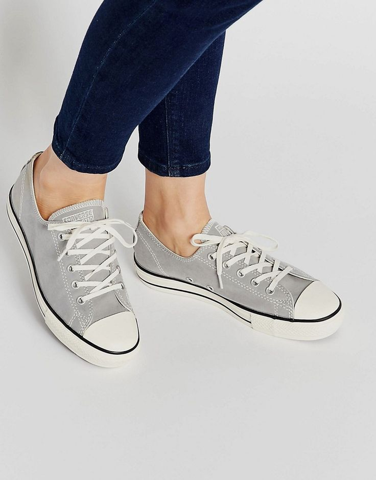 Converse All Star Chuck Taylor Grey High Line Plimsoll Trainers
