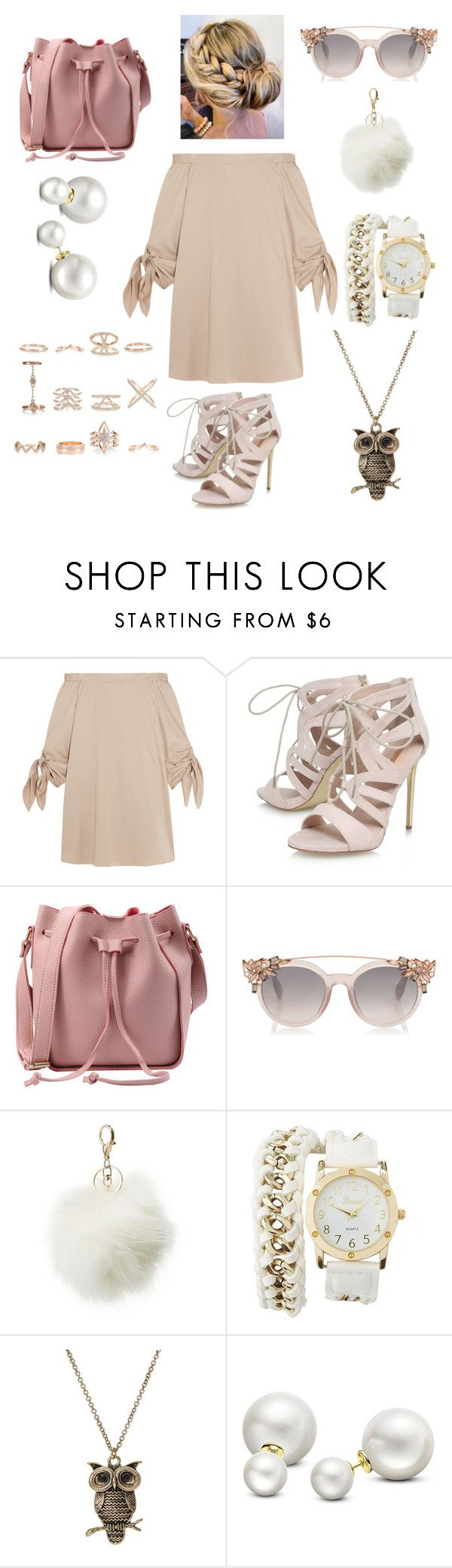 """""""untitle"""" by liyamay28 ❤ liked on Polyvore featuring TIBI, Carvela, Charlotte Russe, Allurez and New Look"""