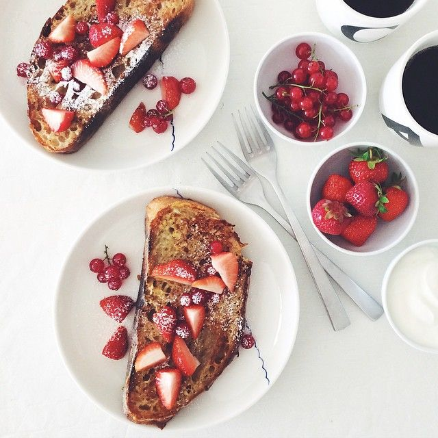 Delicious French toasts