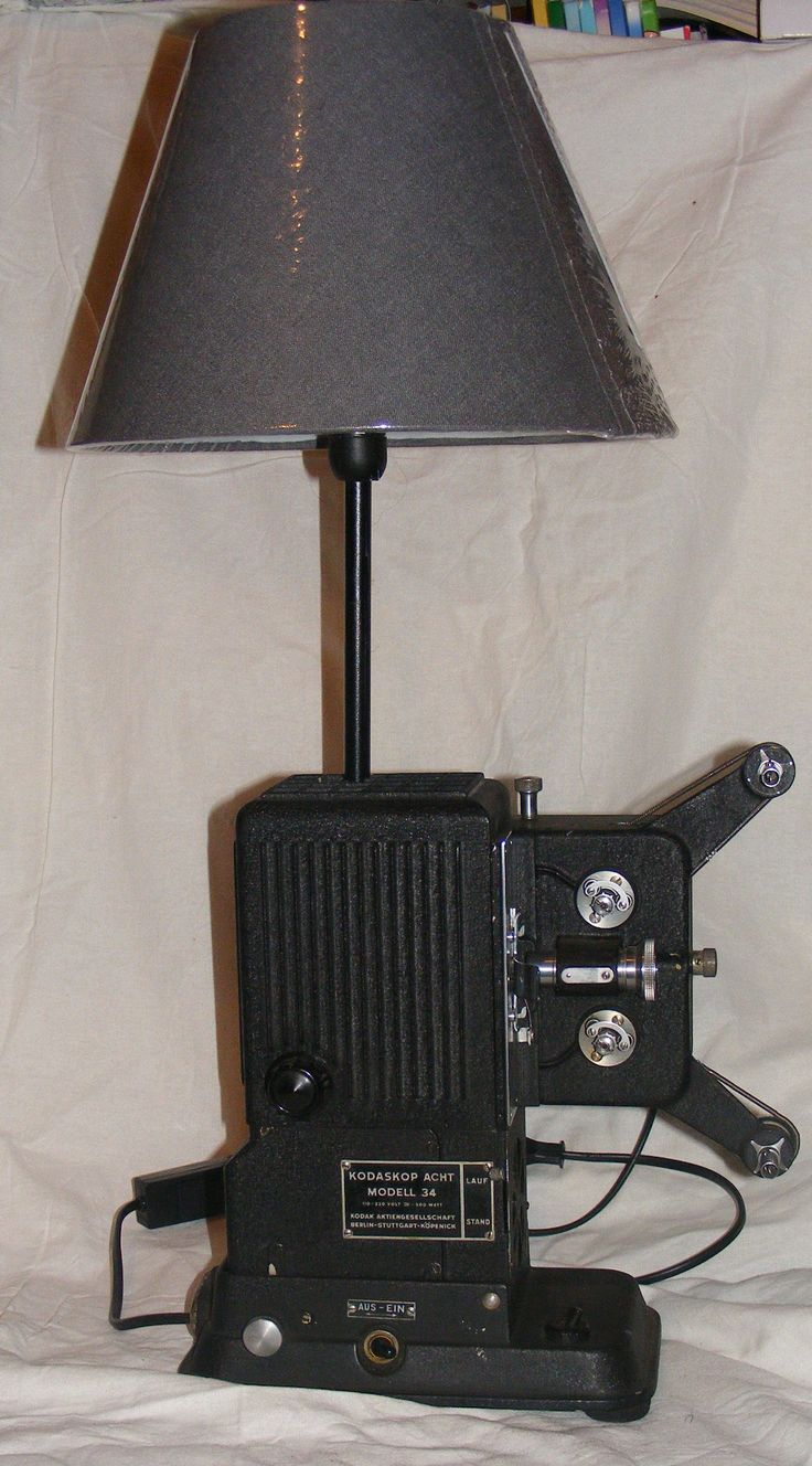 1934 Kodak cinema table lamp