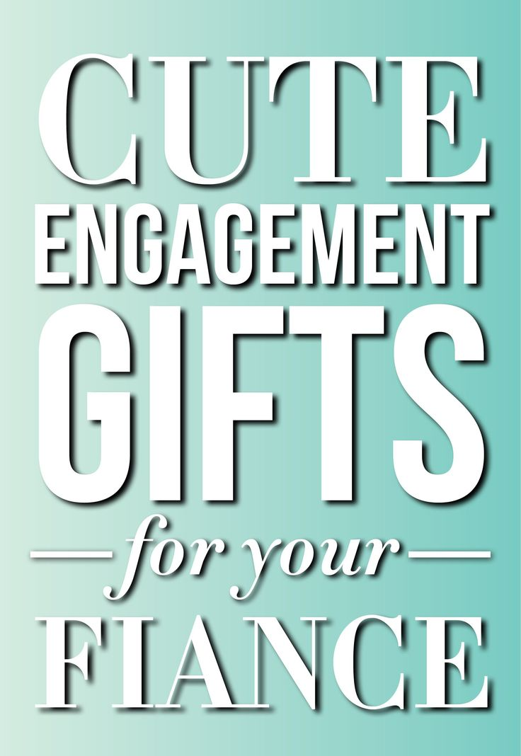 Cute engagement gift ideas for your groom