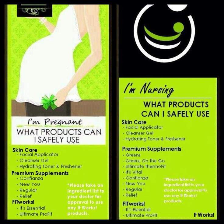 Pregnant or Nursing? What products are safe for you to use? www.crazywraprhonda.com