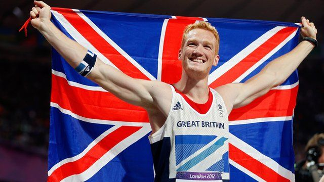 BBC Sport - Ennis, Farah, Rutherford light up London 2012 Olympics for GB