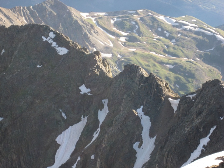 Arapahoe Basin from Grizzly Peak
