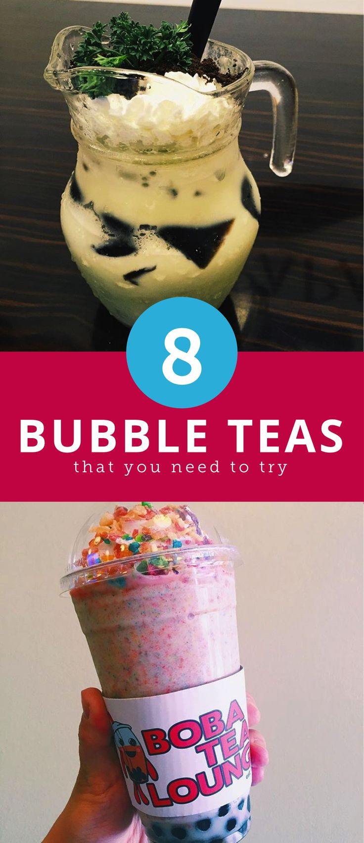 8 Unique Bubble Tea Drinks You Need to Try