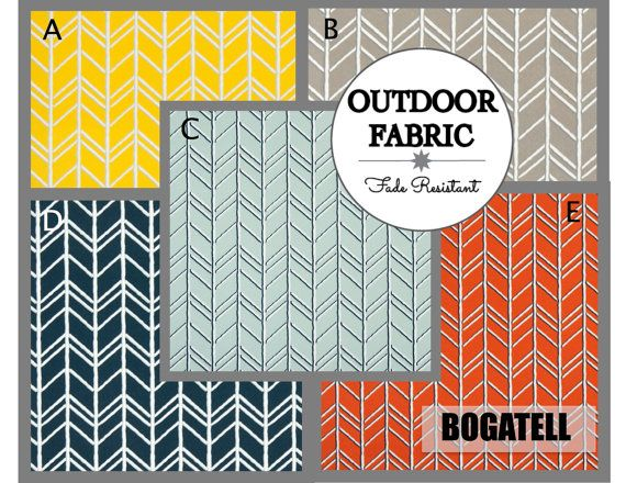 OUTDOOR Cushions- Outdoor Pillows- Outdoor Fabric- Box Cushions- Deck Cushions- Patio Cushions- Chair Cushions- BOGATELL