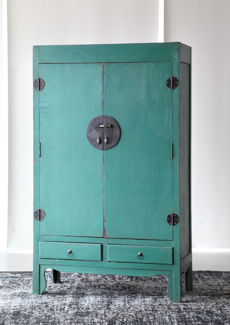 A retro design and worn hues of this cupboard should place it high up on the to-get list if you are looking for a timeless piece. #WTPStyle #storage #home #decorate #homedecor #furniture #livingroom #bedroom