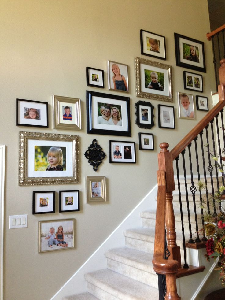 Best 25 Stairway Wall Decorating Ideas On Pinterest: 75 Best Photo Collages Images On Pinterest