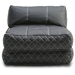 Austin Black Bean Bag Chair Bed - 14015012 - Overstock.com Shopping - Big Discounts on Bean & Lounge Bags
