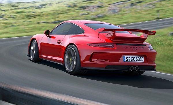 2015 porsche 911 gt3 rs red