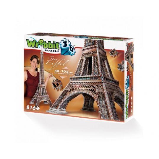 Puzzle 3D Wieża Eiffla - 816 elementów  #puzzle #puzzle 3d