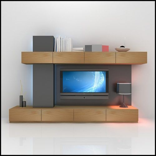 15 best images about mueble tv on pinterest modern wall for Contemporary tv media units