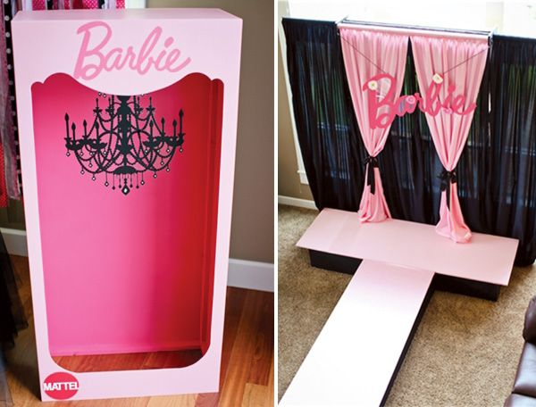 {Fashion Runway} Stylish PINK Barbie Party // Hostess with the Mostess®