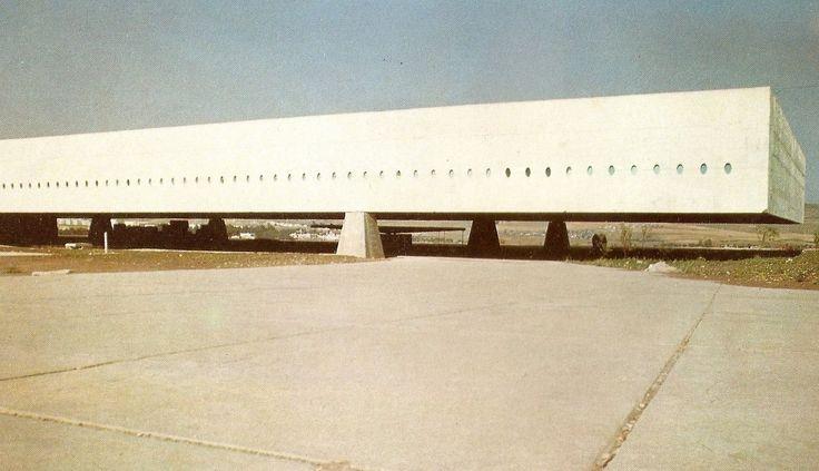 University of Constantine, Algeria. 1969 Oscar Niemeyer