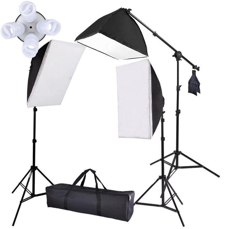 Studio Top Light Softbox Constant Photo Lighting Kit