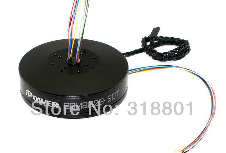 Ipower карданный безщеточный загерметизированная чехол GBM8028-90T w / контактными кольцами максимальный крутящий момент 5.5kg.cm для красный эпическая / черная магия камеры карданный