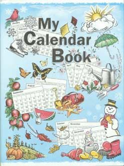 My Calendar Book- A neat book for little kids who are interested in the weather.
