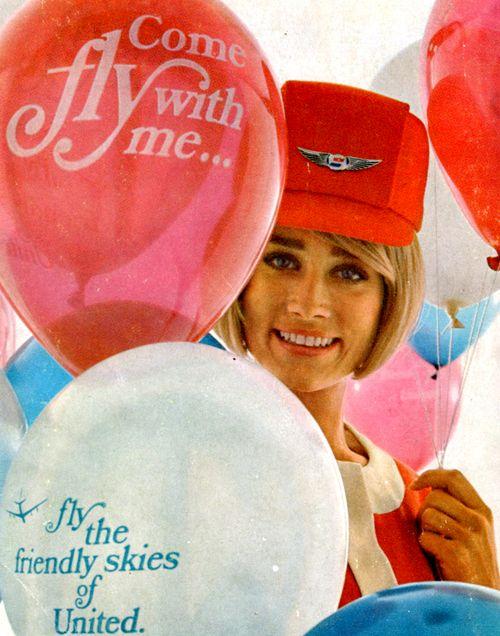 #1969  #United Airlines  #Vintage
