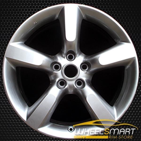 18 Nissan 350z Oem Wheel 2005 2009 Hypersilver Alloy Stock Rim 62455 Oem Wheels Nissan 350z Wheel