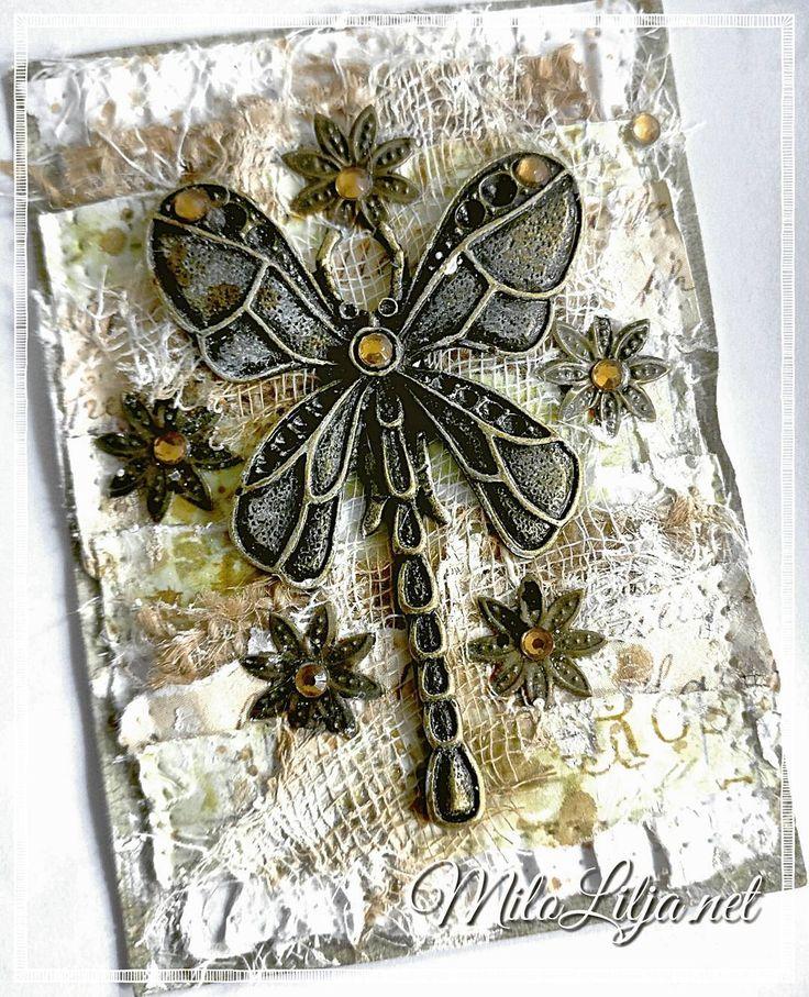See all my ATC cards at: {#miloliljaartATC} {#miloliljaART} {#miloliljaartMIXEDMEDIA}    {#burlap} {#TROLLSLÄNDA} {#dragonfly}    {#myart} {#scrapbooking} {#tarjetas} {#handmadecard} {#kortlaging} {#scrapping} {#instadaily} {#art} {#instaart} {#artist} {#masterpiece} {#paperart} {#crafting} {#creative} {#scraptop} {#vintage} {#shabbychic} {#mixedmedia} {#atc} {#atctrade} {#atccard} {#artisttradingcard} {#tradingcards} {#cheesecloth}