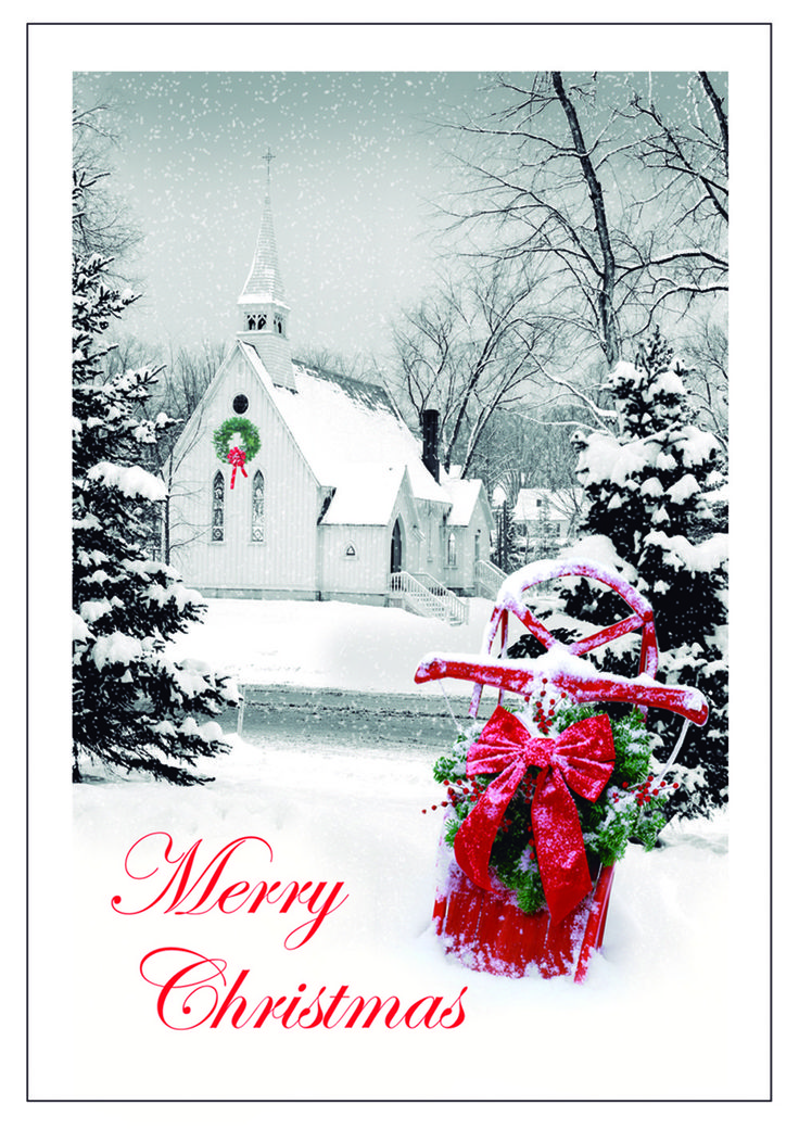 Personalized Religious Christmas Cards