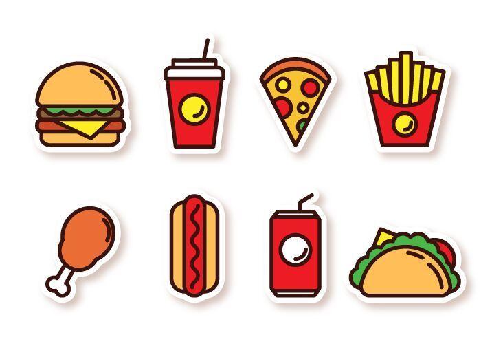 Free 8 Fast Food Svg Png Icons Titanui Food Icons Food Icon Png Free Fast Food