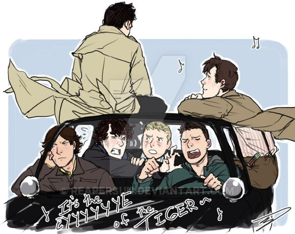 #FandomFriday: Awesome #Supernatural #FanArt