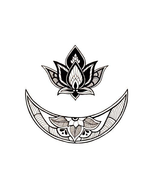 Boho Lotus Moon