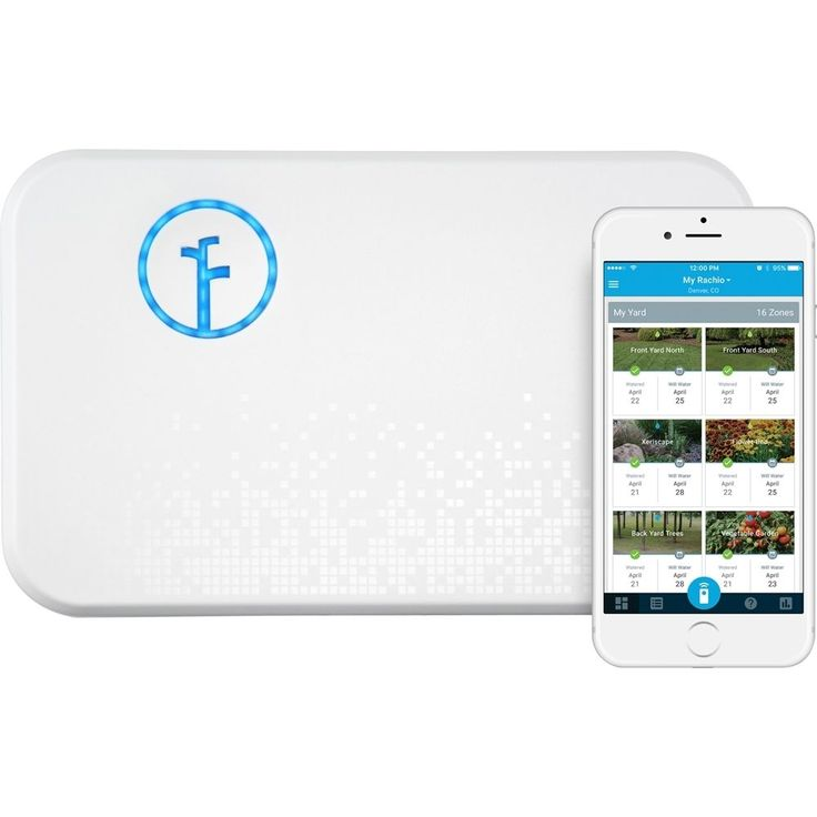 Rachio - 8-zone 2nd Generation Smart Sprinkler Controller - White