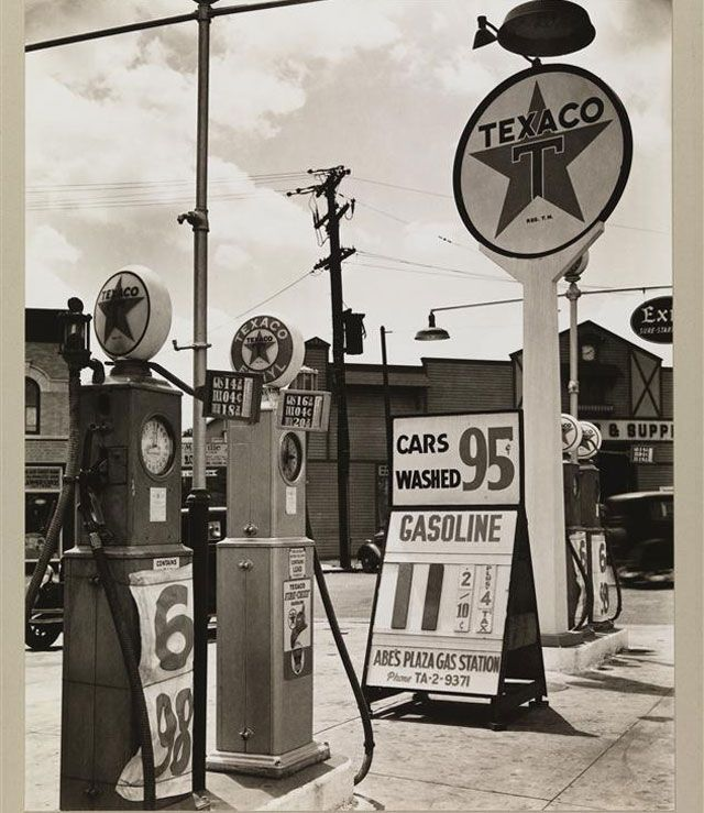 Gas 11 cents... 1936