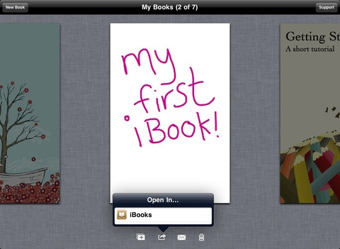 The simple way to create your own beautiful iBooks, right on the iPad.  Read them in iBooks, send them to your friends, or submit them to the iBookstore.  Ideal for children's picture books, photo books, art books, cook books, manuals, textbooks, and the list goes on.