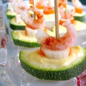 concombre - surimi - crevette