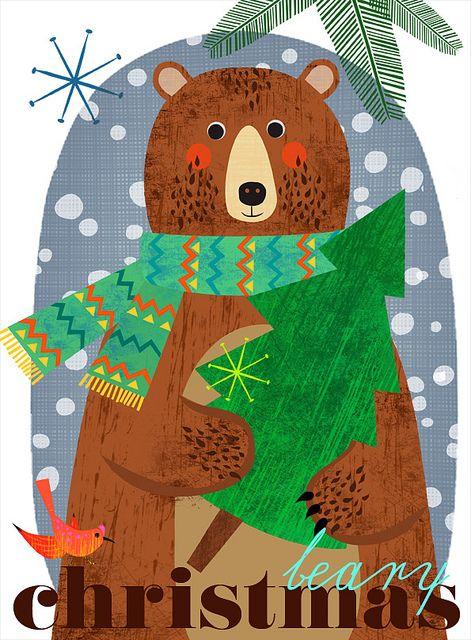 beary Christmas by Elisandra, via Flickr