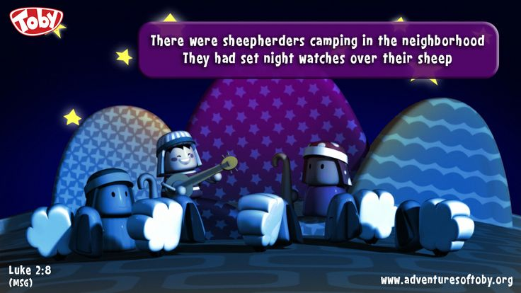There were sheepherders camping in the neighborhood they had set night watches over their sleep - Luke 2:8