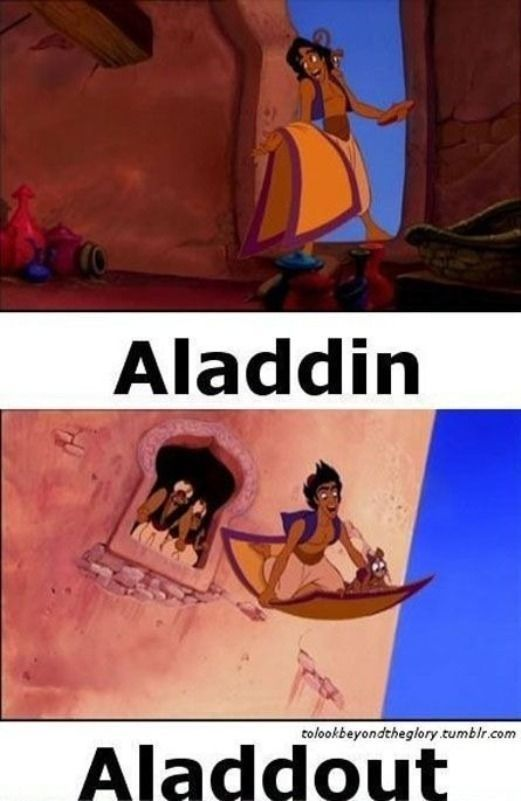 Community Post: 19 Delightful Disney Puns ||| Kinda sad that I rolled on the floor laughing... O_O