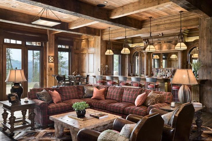 Country Rustic Man Cave : Cozy country rustic game room by jerry locati man cave