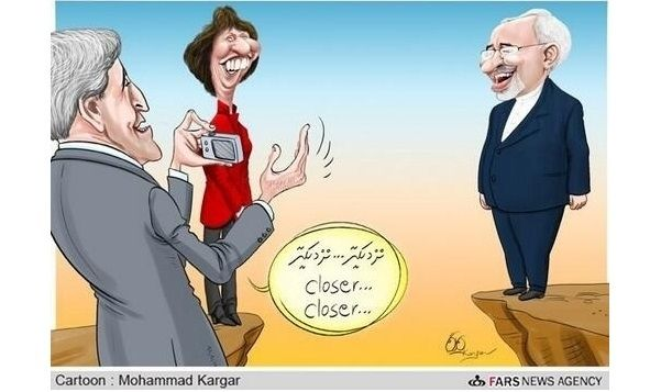 9 Political Cartoons Showing The Gap Between #Iran and the US