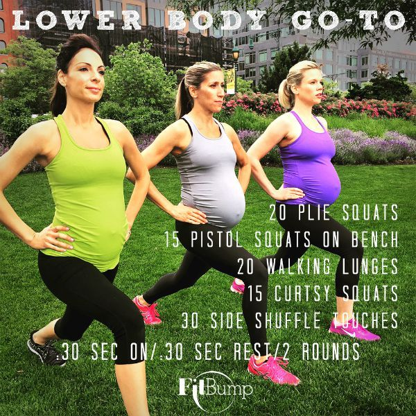 A Lower-Body Leg Workout! Sign up for an in-person class today! #prenatalexercise #prenatalfitness #prenatalworkout