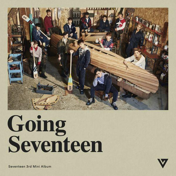 East Asia Addict: [CD] SEVENTEEN – Going Seventeen (3rd Mini Album)