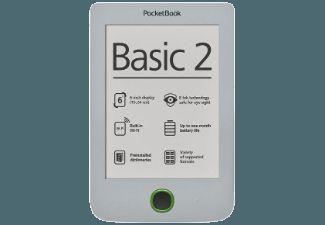 POCKETBOOK Basic 2 614 fehér e-könyv olvasó - e-book reader