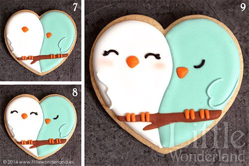 Owl Cookie Tutorial (Needs to be translated into English but has some pics to follow)
