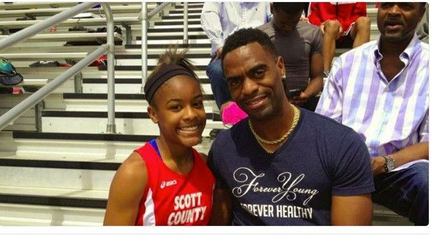 The teen daughter of Olympian Tyson Gay was tragically killed early Sunday morning after a shooting outside of a Lexington, Ky., restaurant, according to USA Today High School Sports. Trinity Gay, 15, a talented sprinter in her own right, was taken to a University of Kentucky hospital with a gunshot wound to her neck around 3:30 am.…