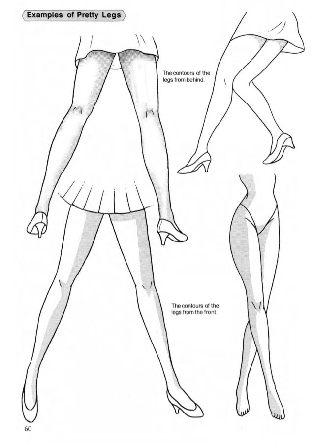 Drawing The Female Legs