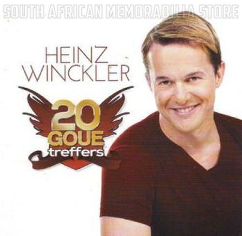 HEINZ WINCKLER - 20 Goue Treffers - South African Afrikaans CD CDSEL0157 *New*